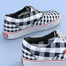 Canvas Shoes For G3F image 4
