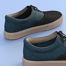 Canvas Shoes For G3F image 5