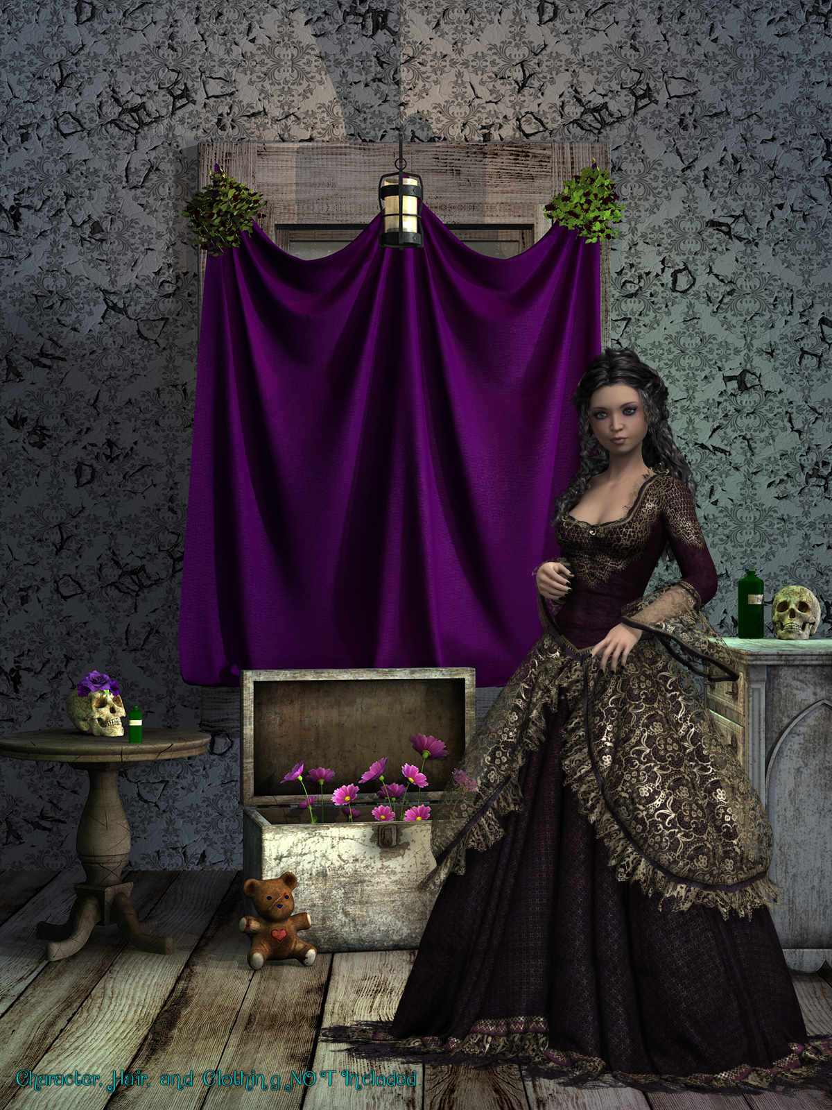 FB Gothic Dreams Backgrounds And Bonus