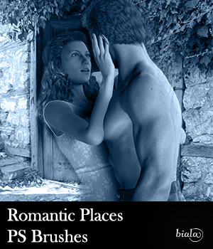 Romantic Places PS Brushes 2D Graphics biala