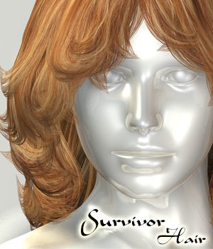 Survivor Hair by 3Dream