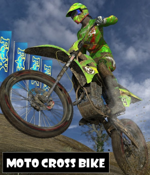 Moto Cross Bike 3D Models ByteFactory3D