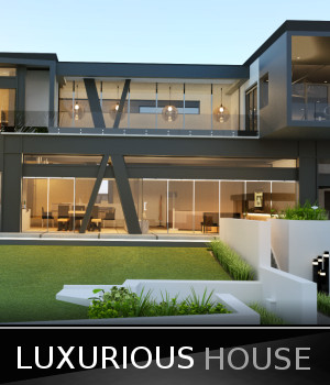 Luxurious House 3D Models TruForm
