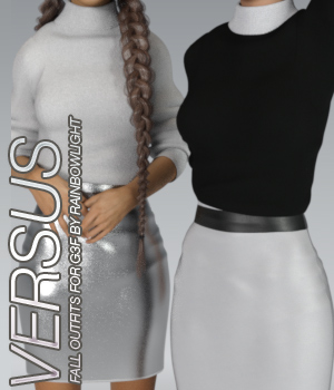 VERSUS - Fall Outfits for Genesis 3 Females 3D Figure Essentials Anagord