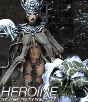 HEROINE - The Princess 3D Figure Essentials Anagord