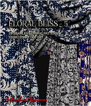 FLORAL BLISS - 5 2D Merchant Resources RajRaja