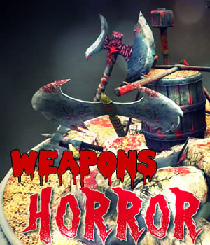 Horror Weapons Game models 3D Models Extended Licenses 3D Game Models : OBJ : FBX dexsoft-games