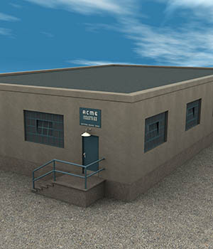 Industrial Workshop 3D Models Richabri