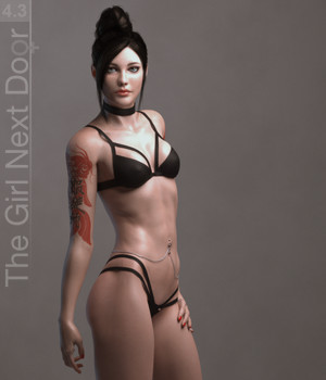 GND 4.3 3D Figure Essentials Blackhearted