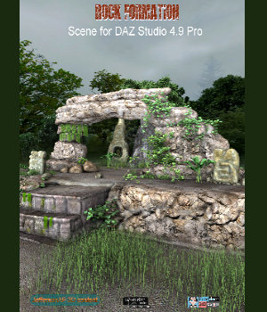 Rock Formation 3D Models JeffersonAF