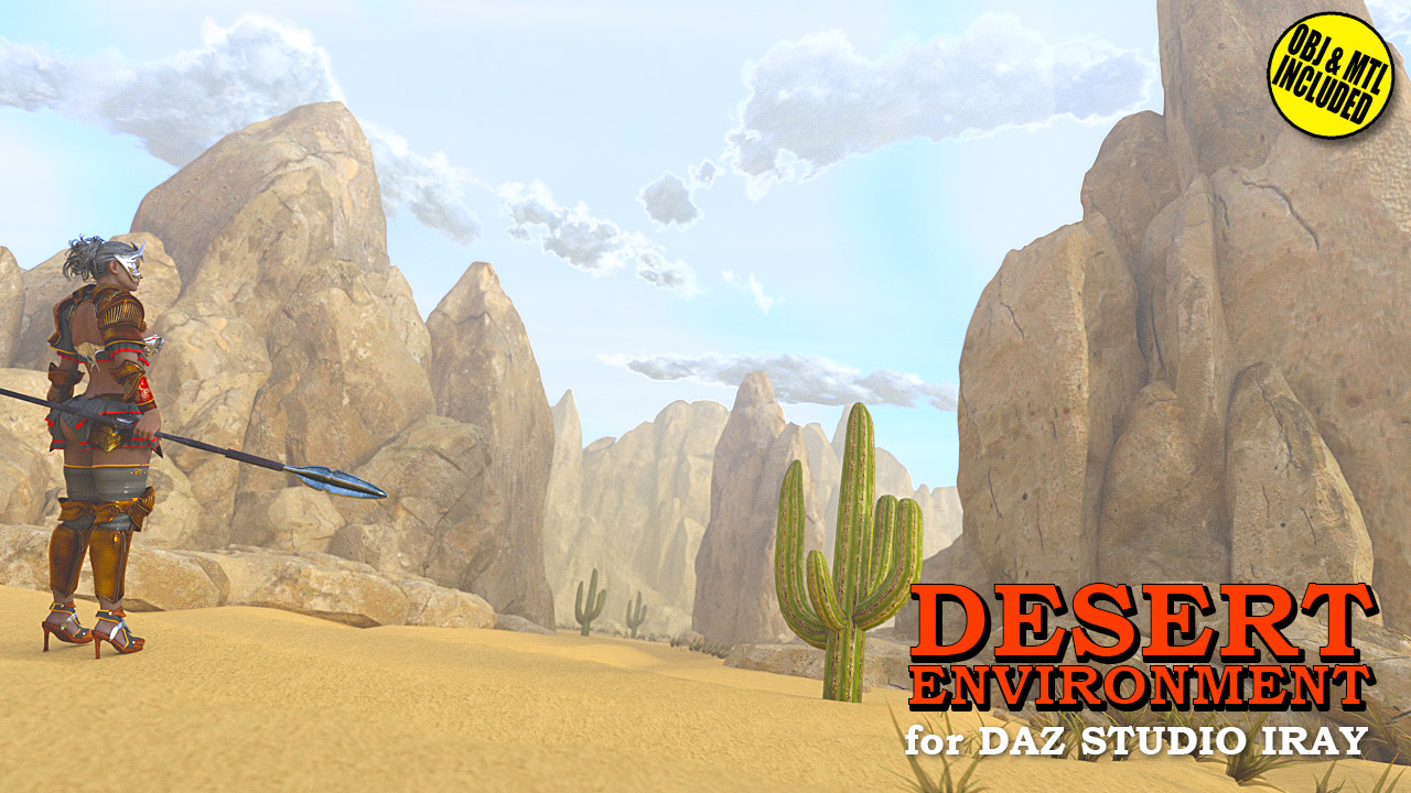 Desert Environment for DS Iray