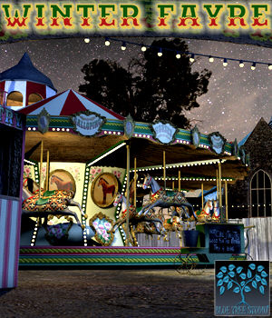 Winter Fayre 3D Models BlueTreeStudio