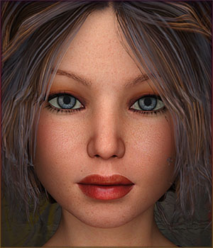TDT-Abella for Genesis 3 Female 3D Figure Assets Deva3D
