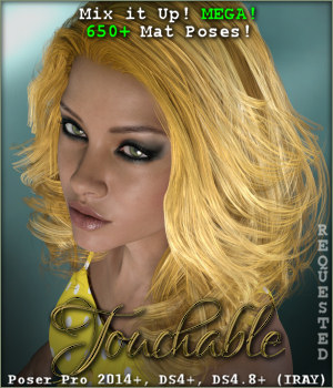 Touchable Raffaella 3D Figure Essentials -Wolfie-