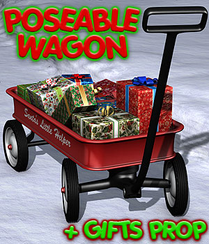Christmas Wagon by coflek-gnorg