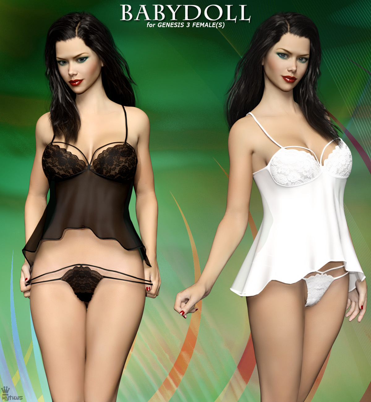 9197aa0322087 Babydoll For Genesis 3 Female(s). Warning! Content Advisory: Some images  may contain content not suitable for all viewers