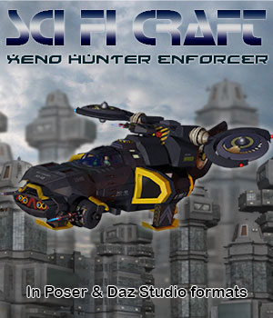 Sci Fi Craft XH Enforcer 3D Models Simon-3D