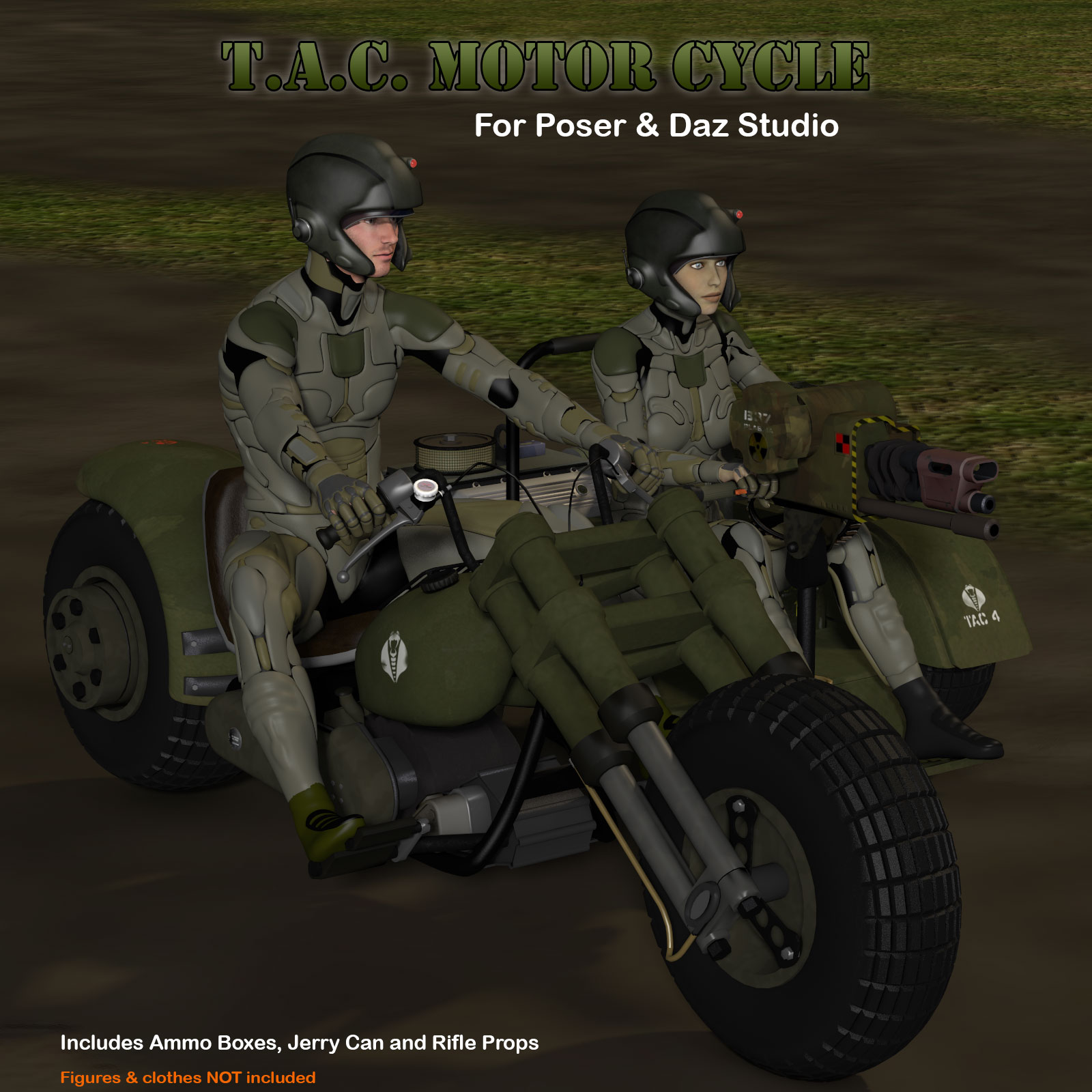 T.A.C. Tactical Advance Combination) Motor Cycle