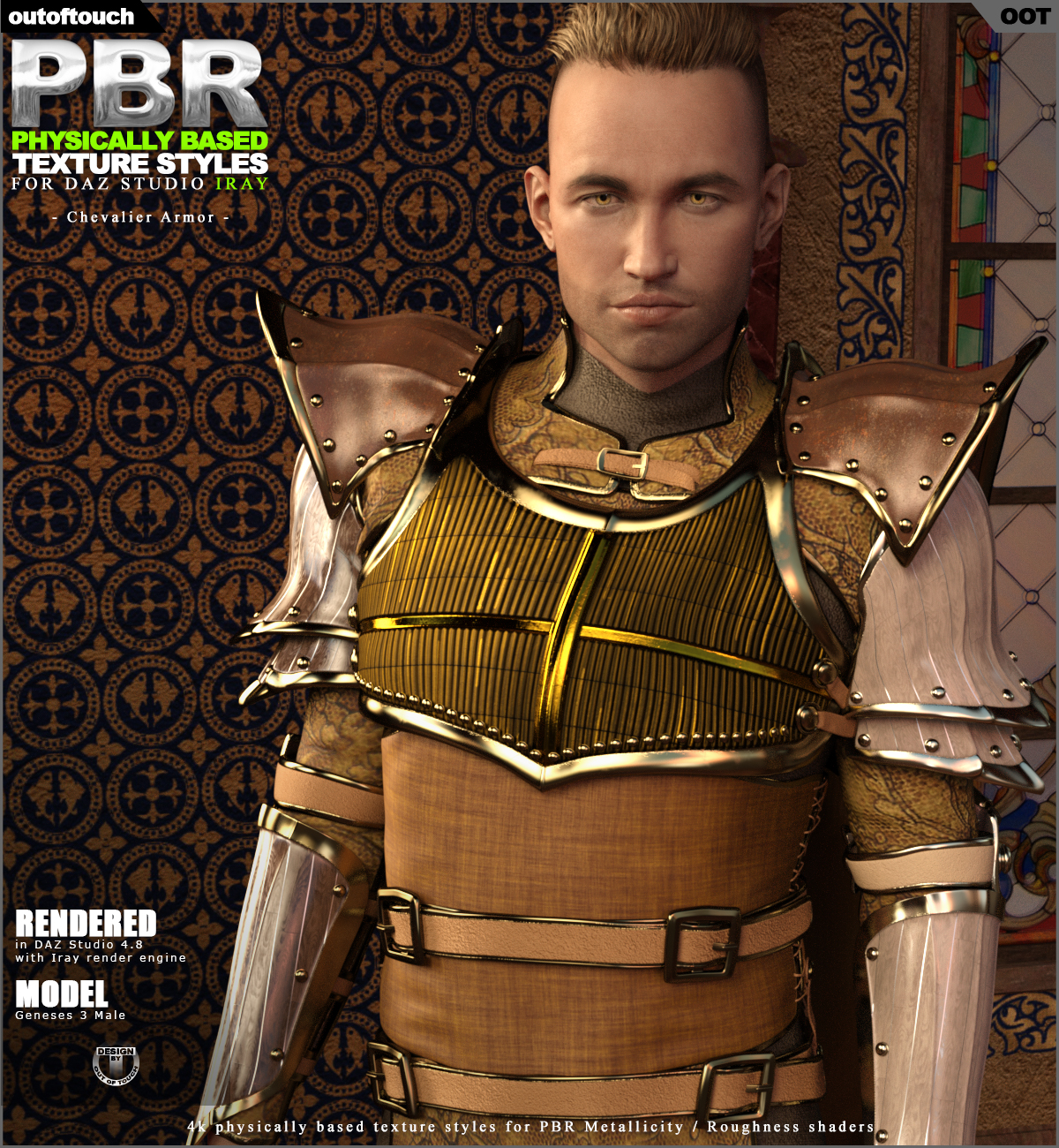 OOT PBR Texture Styles for Chevalier Armor