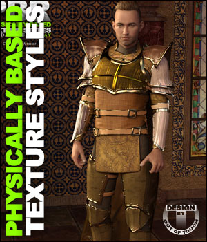 OOT PBR Texture Styles for Chevalier Armor 3D Figure Essentials outoftouch