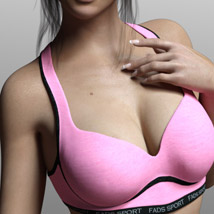 Fads Sports Bra for Genesis 3 Female image 6