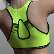 Fads Sports Bra for Genesis 3 Female image 7