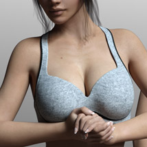 Fads Sports Bra for Genesis 3 Female image 8