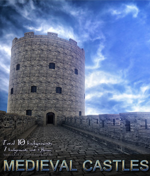 Medieval Castles - 2D backgrounds 2D bonbonka