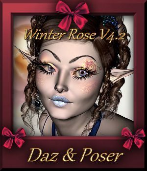 Botany : Winter Rose V4.2  3D Figure Assets farfadelf