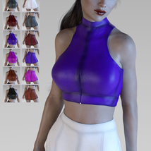 X-Fashion in Leather for Genesis 3 Females image 4