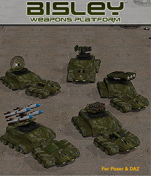 Sci-Fi Bisley Weapons Platform by Simon-3D