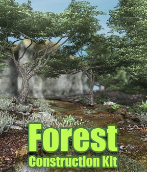 Forest Construction Kit for DS Iray 3D Models powerage