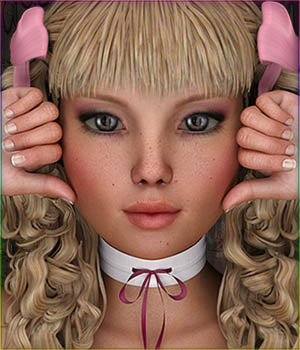 TDT-Dorothy for Genesis 3 Female 3D Figure Essentials Deva3D