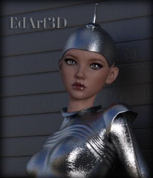 Gynoid NextGen4 for G3F 3D Figure Essentials EdArt3D