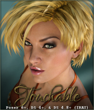 Touchable Juno 3D Figure Assets -Wolfie-