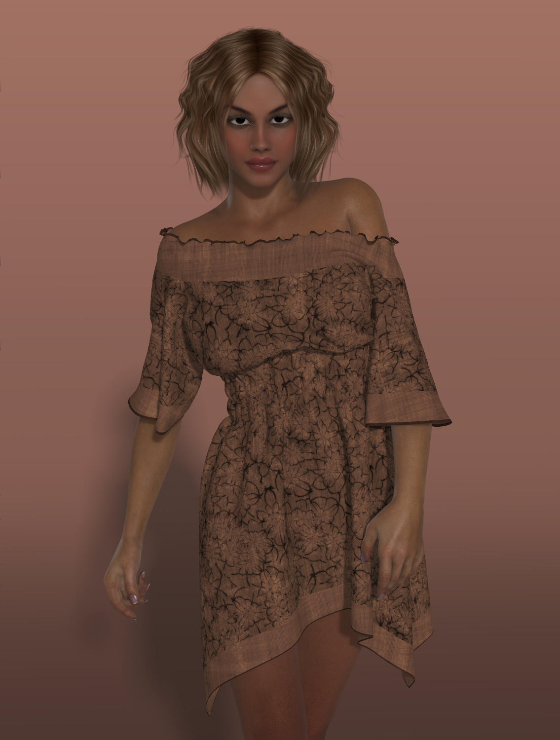 Dynamics 11 - Boho Dress for Victoria 4 by Lully