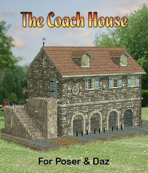 The Coach House 3D Models Simon-3D