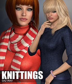 Daz Iray - Knittings 2D Merchant Resources Atenais