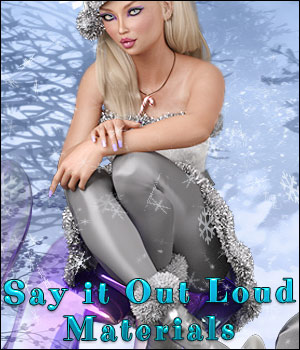 Say it Out Loud Materials AddOn 3D Figure Assets TwiztedMetal