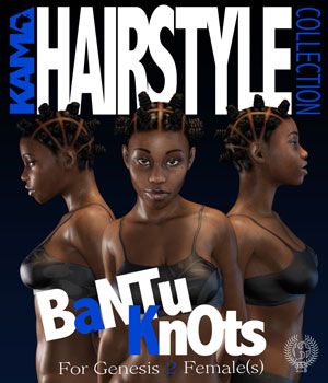 KHC BANTU KNOTS G2F 3D Figure Essentials samsil