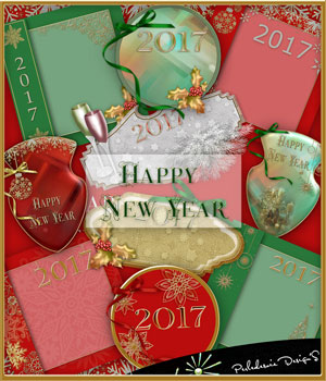 Happy New Year 2D Merchant Resources Perledesoie