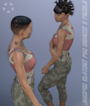 Jodhpur Clothes for Genesis 3 Female(s) 3D Figure Essentials Oskarsson
