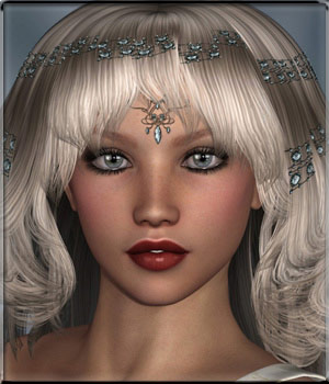 To Dye For - Survivor Hair 3D Figure Assets vyktohria