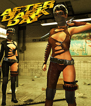 After Dark Day for G3 female(s) 3D Figure Assets powerage