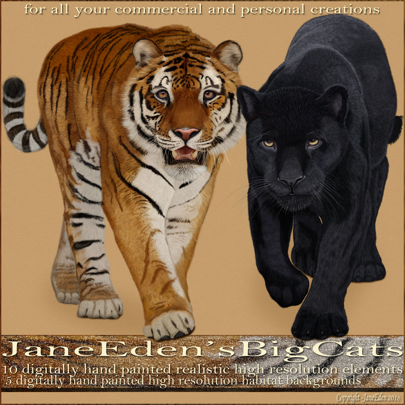JaneEdens Big Cats