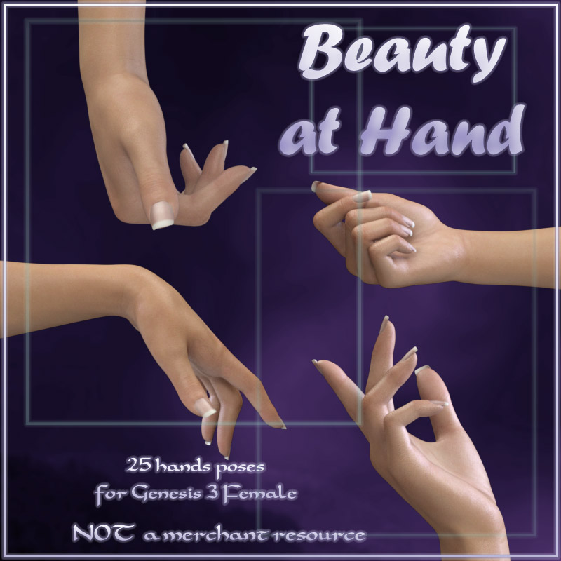 Beauty at Hand - G3F