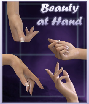 Beauty at Hand - G3F 3D Figure Assets ilona