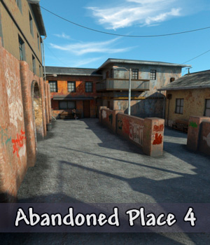 AJ Abandoned Place 4 3D Models -AppleJack-