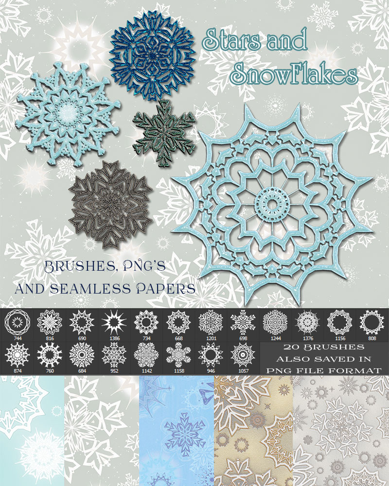 Star and Snowflakes