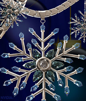 Snowflake Jewelry for Genesis 3 Female